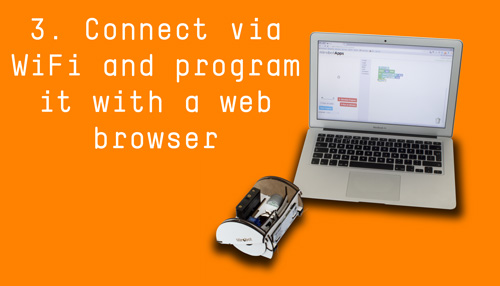 3. Connect using WiFi then program it using your web browser