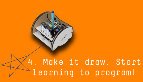 4. Make it draw and start learning to program!